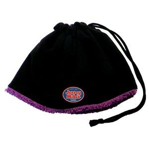4-In-1 Reversible Neck & Face Warmer/ Beanie w/ Ponytail Opening